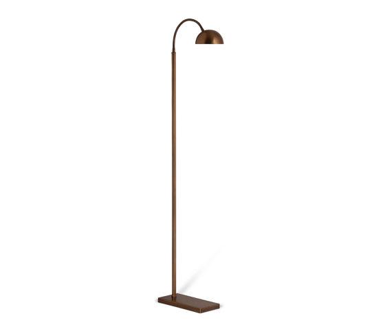 Arc Floor Lamp by Porta Romana   Free-standing lights