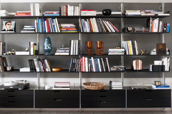 606 Universal Shelving System: Structure by Vitsoe | Shelving
