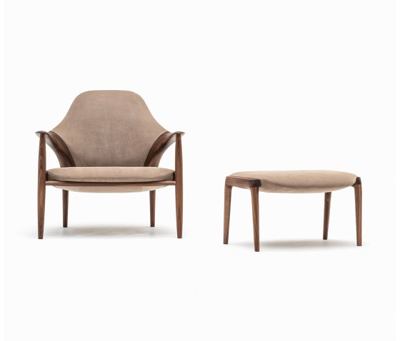 Armchair by Kunst by Karimoku | Armchairs