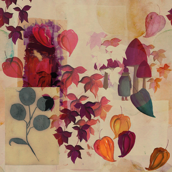 Autunno by Inkiostro Bianco | Wall coverings / wallpapers