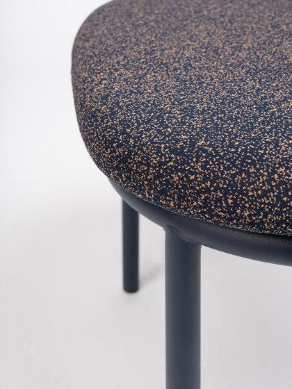 Lana Ottoman Steel by ONDARRETA | Poufs