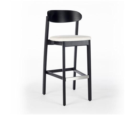 Arch Barstool - Oak Dark by Wildspirit | Bar stools