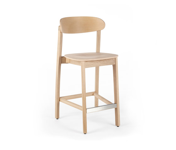 Arch Barstool - Oak Natural by Wildspirit   Counter stools