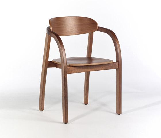 Arch Armchair - Walnut by Wildspirit | Chairs