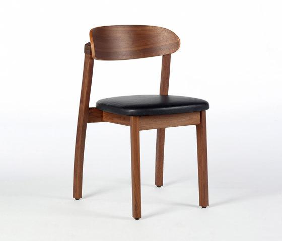 Arch Chair - Walnut by Wildspirit | Chairs