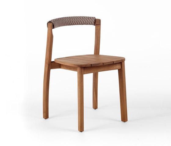 Arch Chair - Teak by Wildspirit   Chairs