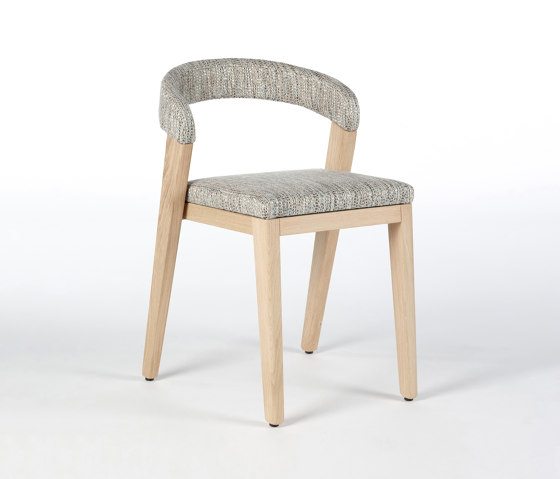 Play Chair Upholstered Back - Oak Natural by Wildspirit | Chairs