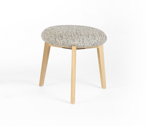 Macaron Low - Oak Natural by Wildspirit | Poufs