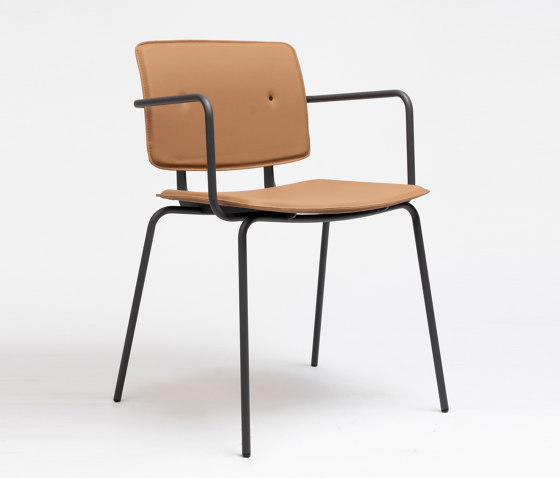 Don Chair Upholstered With Armrests by ONDARRETA   Chairs