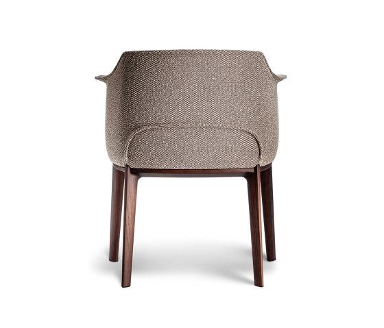 Archibald Dining Chair by Poltrona Frau | Chairs