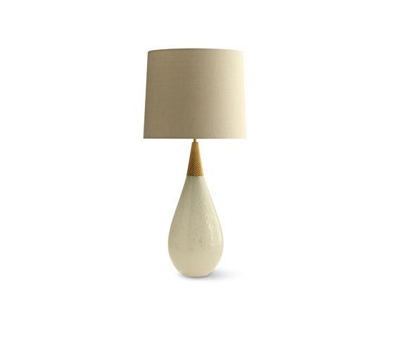 Pearldrop Lamp - Pearl by Porta Romana   Table lights