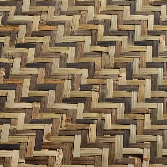 Decoration by natural materials | M06 by Caneplex Design | Wall-to-wall carpets