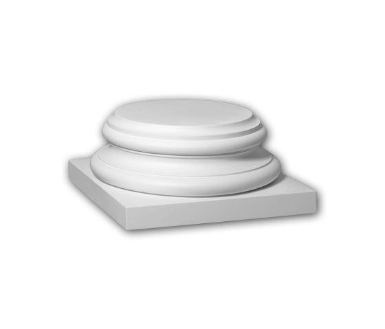 Facade mouldings - Full column segment Profhome Decor 413302 by e-Delux | Facade