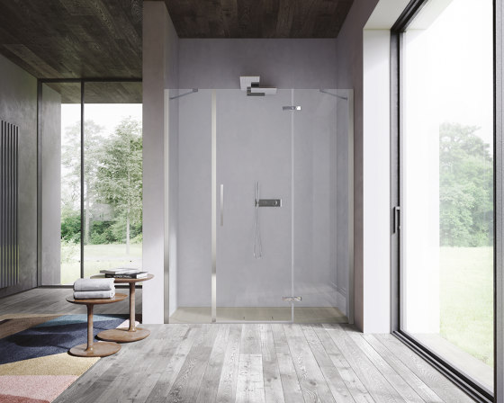 Clip by Ideagroup | Shower screens
