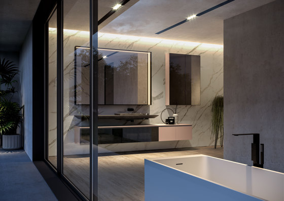 Cubik 8 by Ideagroup | Wall cabinets