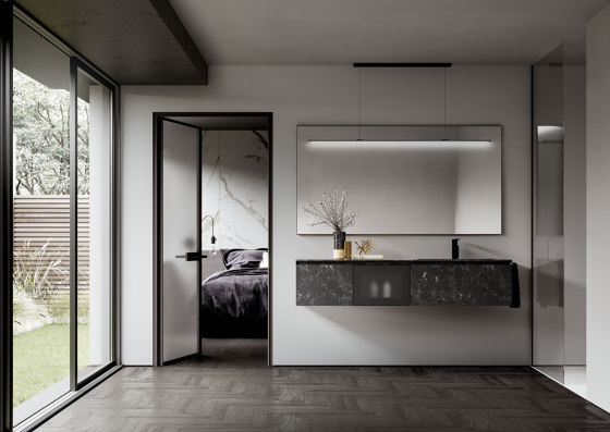 Cubik 11 by Ideagroup | Vanity units
