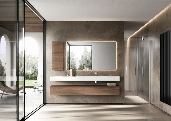 Cubik 23 by Ideagroup | Wall cabinets