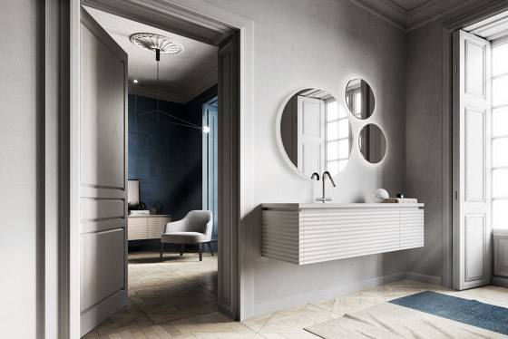 Dolcevita 1 by Ideagroup | Vanity units