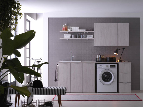 Kandy 1 by Ideagroup | Wall cabinets