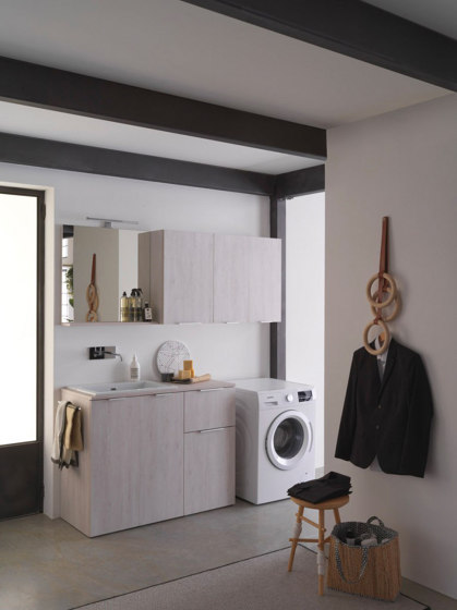 Kandy 5 by Ideagroup | Wall cabinets