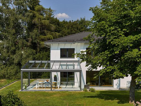 Glass canopy SDL Atrium Plus by Solarlux | Winter gardens