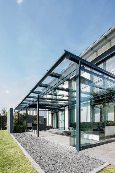 Glass canopy SDL Atrium by Solarlux | Winter gardens
