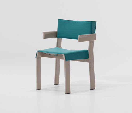 Band armchair aluminium di KETTAL | Sedie