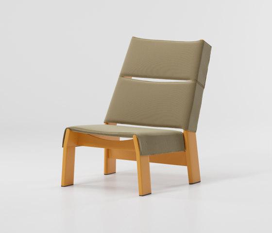 Band club chair aluminium di KETTAL | Poltrone
