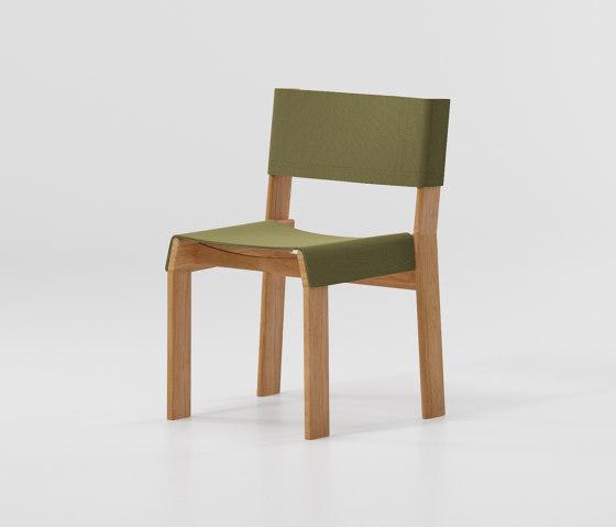 Band dining chair teak di KETTAL | Sedie