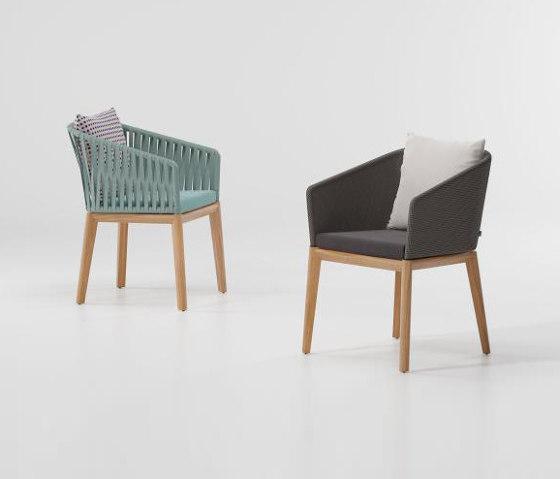 Bitta dining armchair teak legs by KETTAL   Armchairs