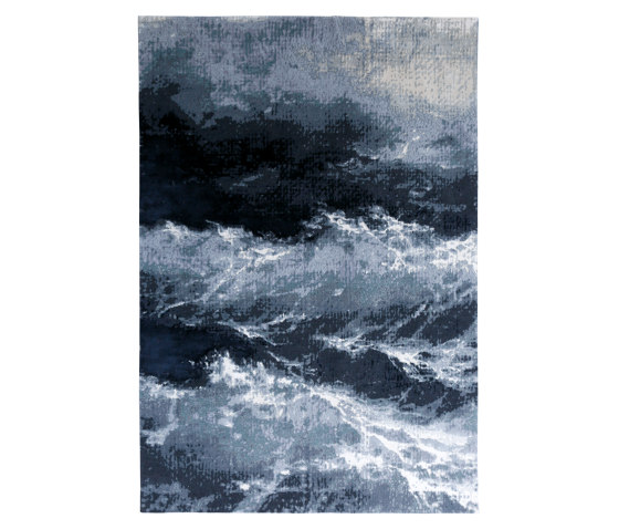 Wave 1 Night Grey by Studio5 | Rugs