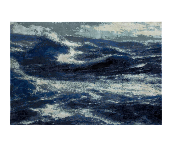 Wave 2 Blue by Studio5 | Rugs
