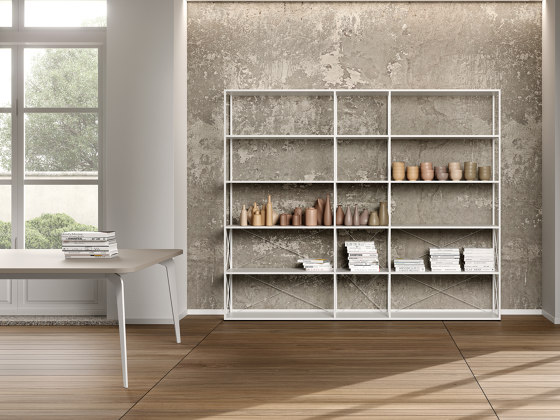 Q18 bookcase by ALEA | Shelving