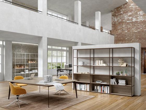 Q18 bookcase by ALEA | Shelving