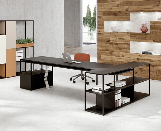 Q18 desk/bookshelf by ALEA | Shelving