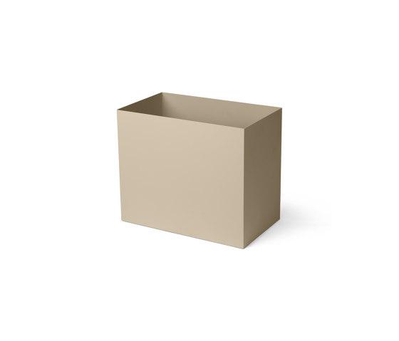 Plant Box Pot - Large - Cashmere by ferm LIVING   Storage boxes