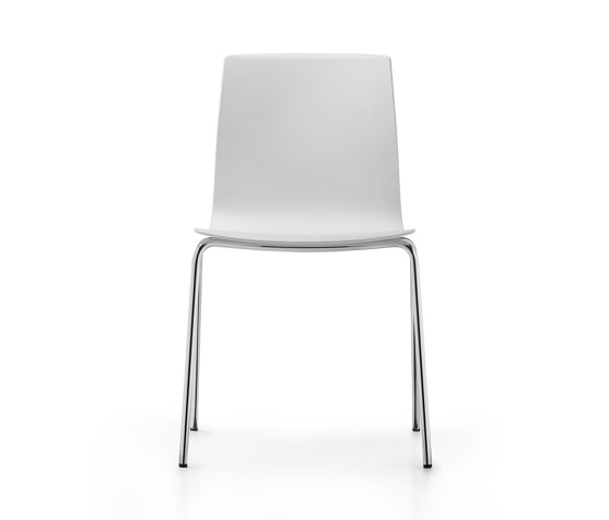 Fiore MicroSilver four-legged model by Dauphin | Chairs