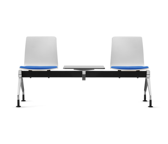 Fiore MicroSilver bench system by Dauphin | Benches