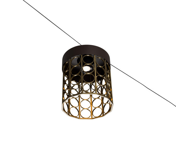 Kristinehamn Catenary Painted by Blond Belysning | Outdoor pendant lights