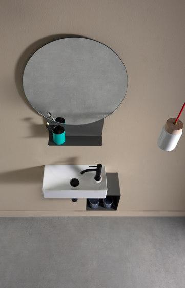 Fold by Scarabeo Ceramiche   Bath shelving
