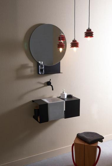 Fold by Scarabeo Ceramiche | Bath shelving
