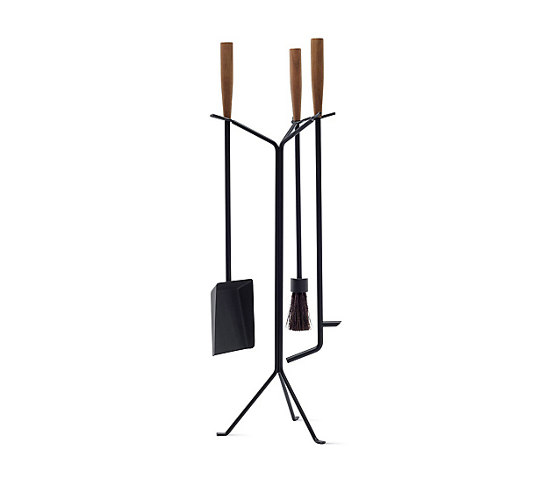 Nelson Fireplace Tools by Herman Miller | Fireplace accessories