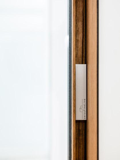 swissFineLine Wood by swissFineLine | Patio doors