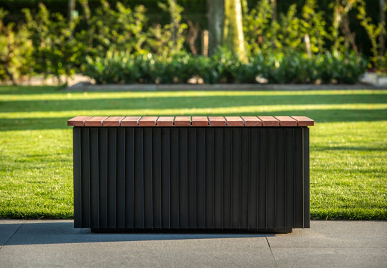Linarte Modulo System by Renson   Benches