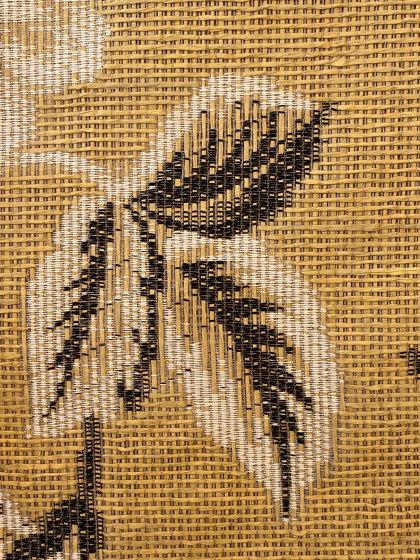 El Papel col. 101 beige/white/black by Jakob Schlaepfer   Drapery fabrics