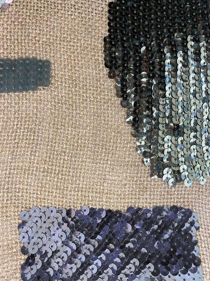 Linopaille col. 103 linen/green/gray by Jakob Schlaepfer | Drapery fabrics