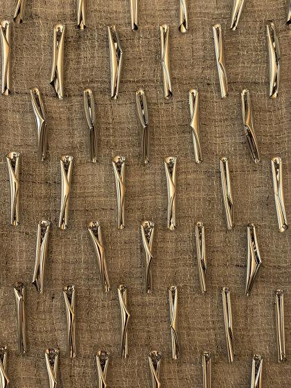 Scrollino col. 102 light gray/silver by Jakob Schlaepfer | Drapery fabrics