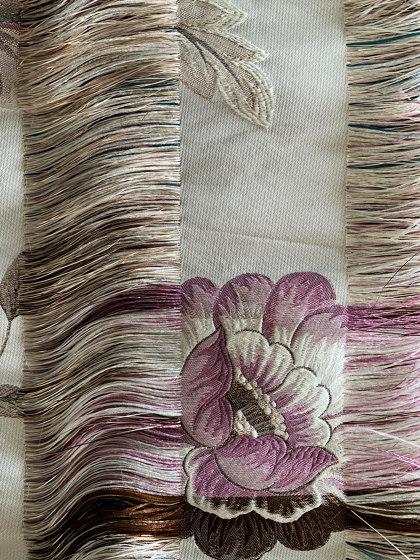 Trama col. 101 ecru/mutlicolor by Jakob Schlaepfer | Drapery fabrics