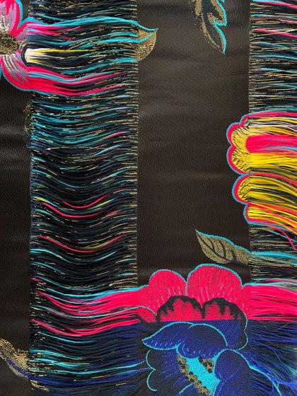 Trama col. 102 navy/mutlicolor by Jakob Schlaepfer   Drapery fabrics