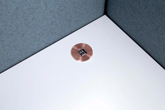 Table Top Slim by Götessons | USB power sockets